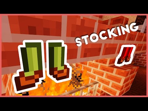 Minecraft - How To Make A Christmas Stocking