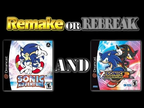 ROR: Sonic Adventure 1 and 2 (DC vs. GCN vs. PSN)