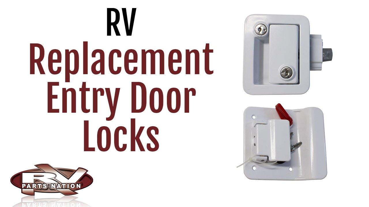 Rv Entry Door Locks Youtube