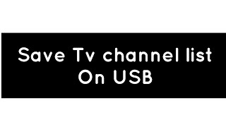 How To Backup Channel List Solid 6141 And All Receiver Mr 888