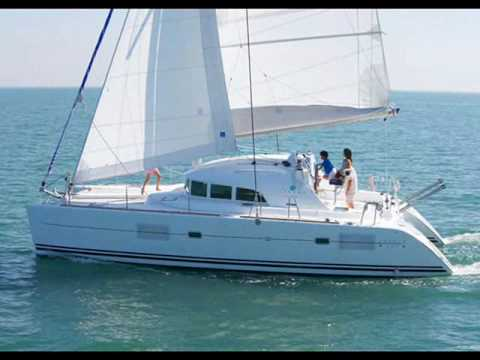 Charter catamaran Lagoon 380 in Greece.wmv