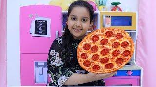 shfa pretend play cooks pizza with cute kitchen