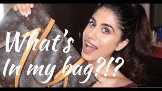 What's in my bag?!? | Malvika Sitlani