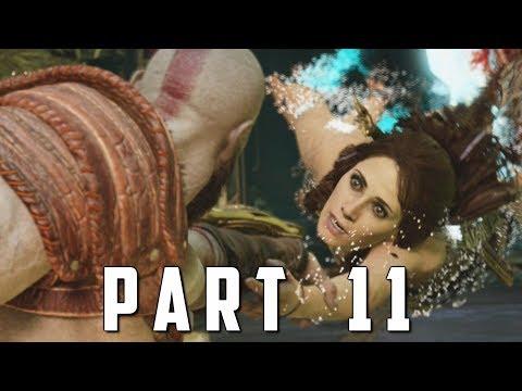 GOD OF WAR Walkthrough Gameplay Part 11 - WELCOME TO ALFHEIM (God of War 4)