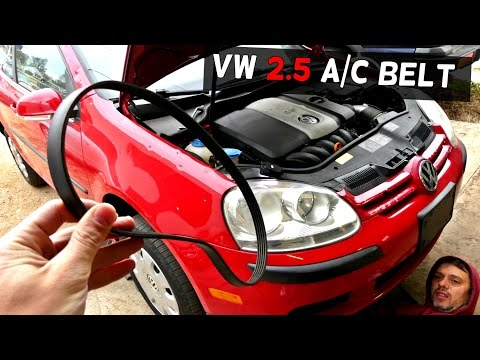 VW RABBIT JETTA MK5 2.5 Serpentine Belt A/C BELT Air Conditioner Belt