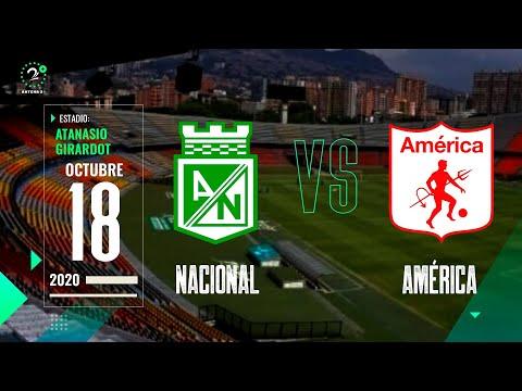 En Vivo Nacional Vs America Ligabetplay 2020 Youtube