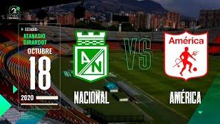 EN VIVO #Nacional Vs. #América #LigaBetPlay 2020