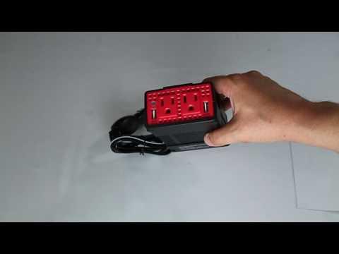 Review: BESTEK 300W Power Inverter DC 12V to 110V AC Car Adapter