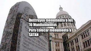 Nuevo Orden Mundial, Destruyen monumento a los 10 Mandamientos