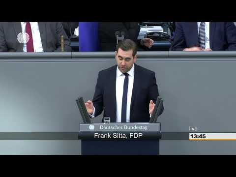 Frank Sitta: Aktuelle Stunde - Diesel: Motor der deutschen… [Bundestag 02.03.2018]