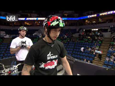Chris Hughes vs TJ Ellis BMX Triples Quarterfinal: Minneapolis
