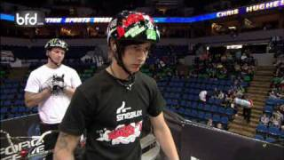 Chris Hughes vs TJ Ellis BMX Triples Quarterfinal: Minneapolis 2009