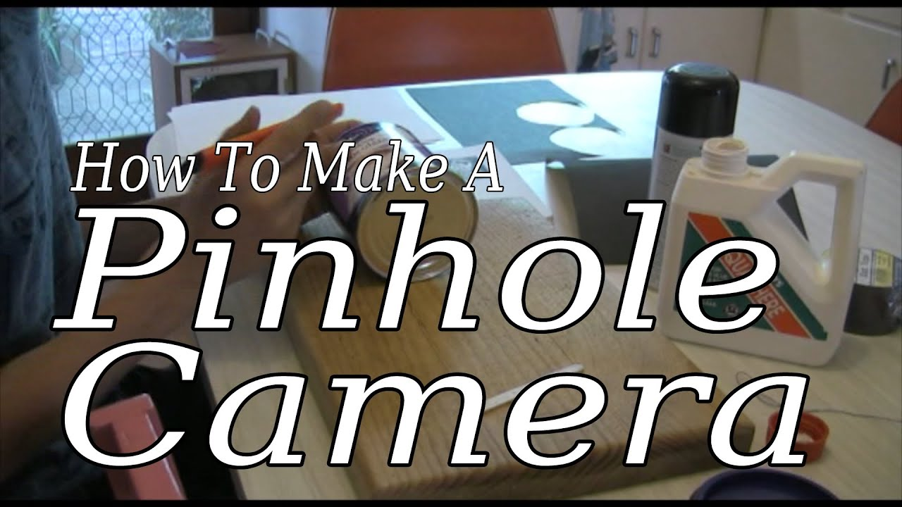 how to make a pinhole camera from scratch 2009 youtube. Black Bedroom Furniture Sets. Home Design Ideas
