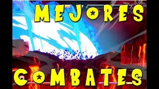 🔥TOP 4 MEJORES COMBATES DEL MUNDO🔥 DRAGON BALL FIGHTER Z