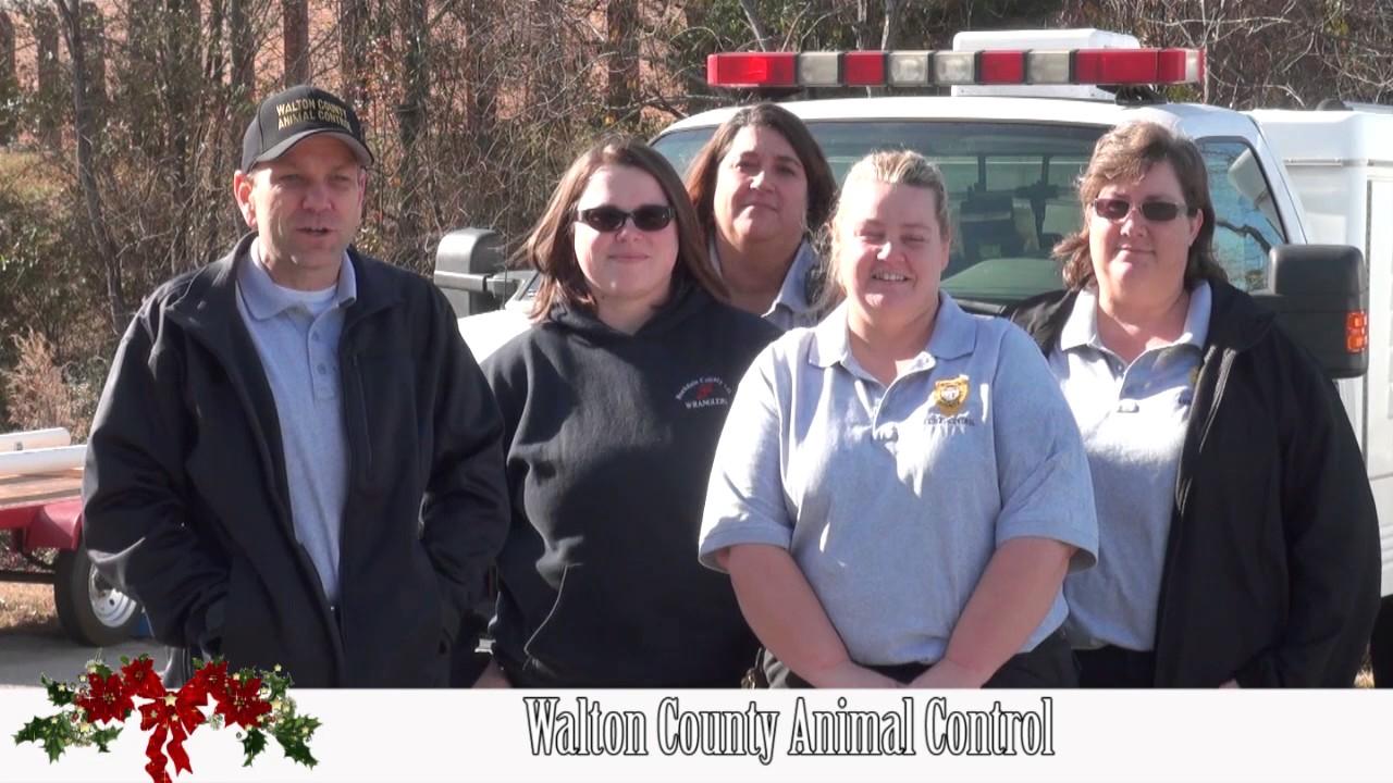 Walton County Animal Control Holiday greetings