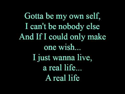 Real life - lyrics