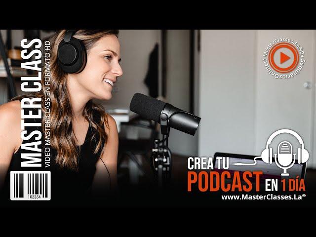Crea tu Podcast en 1 día - Haz crecer tu audiencia y tu presencia Online.