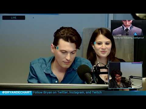 Bryan Dechart aka Connor Plays Detroit: Become Human w/ Amelia Rose Blaire - Full Stream #1 streaming vf