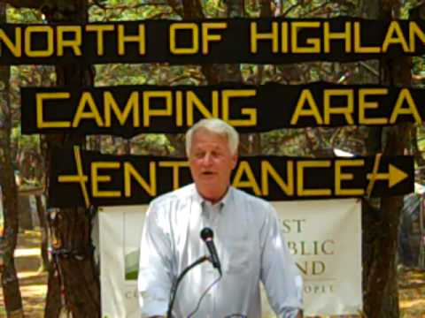Delahunt, Vicki Kennedy Celebrate Protection of North of Highland Campground