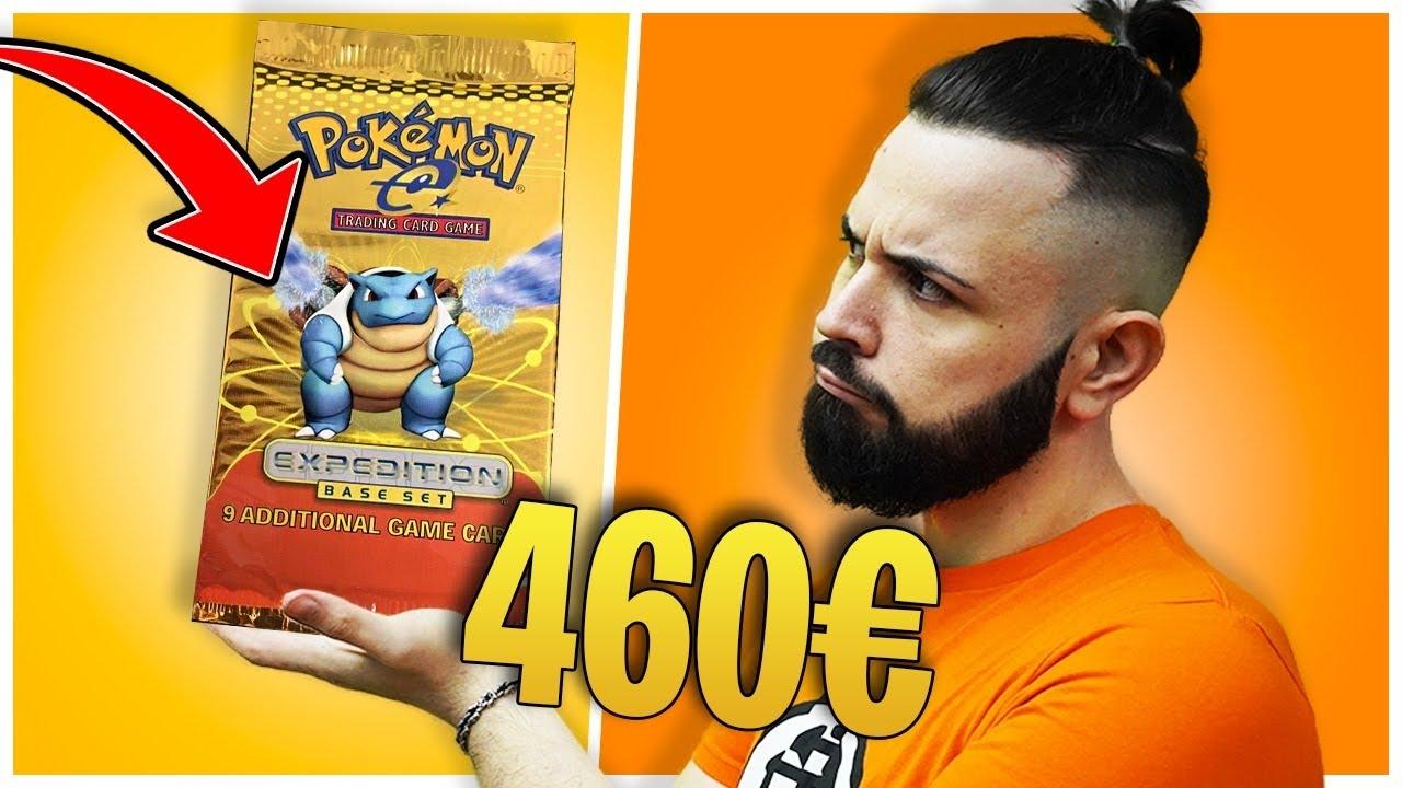 """4.000 € di Pack POKEMON, ne Apro uno da 480 euro PESANTE! """"EXPEDITION"""""""