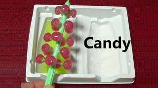 How to Make Christmas Tree Candies with Candy Molds