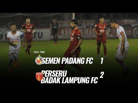 [Pekan 5] Cuplikan Pertandingan Semen Padang FC Vs Perseru Badak Lampung FC, 21 Juni 2019