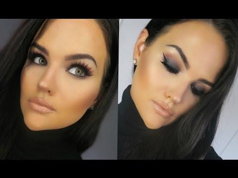 Full Face MAC Cosmetics Makeup Tutorial | Black Smokey Eye