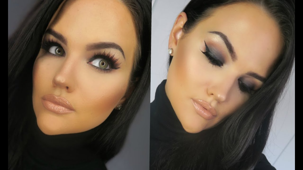Full Face MAC Cosmetics Makeup Tutorial | Black Smokey Eye