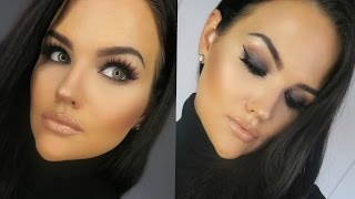 One of MakeupByCheryl's most viewed videos: Full Face MAC Cosmetics Makeup Tutorial | Black Smokey Eye