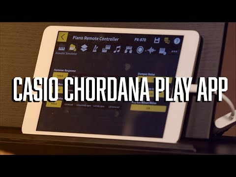Casio Chordana Play App - The Awesome FREE App from Casio!