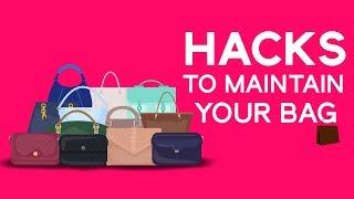 Hacks To Maintain Your Bag I Hauterfly