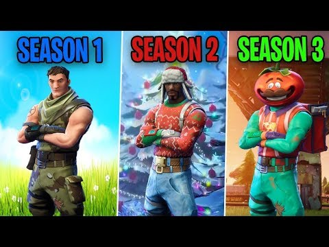 SEASON 1 Vs SEASON 2 Vs SEASON 3 - Fortnite Battle Royale