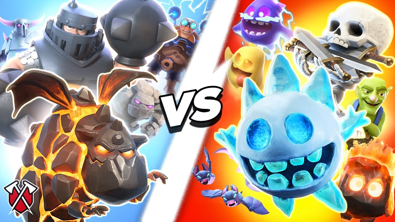 EXPENSIVE vs CHEAP! (Clash Royale)