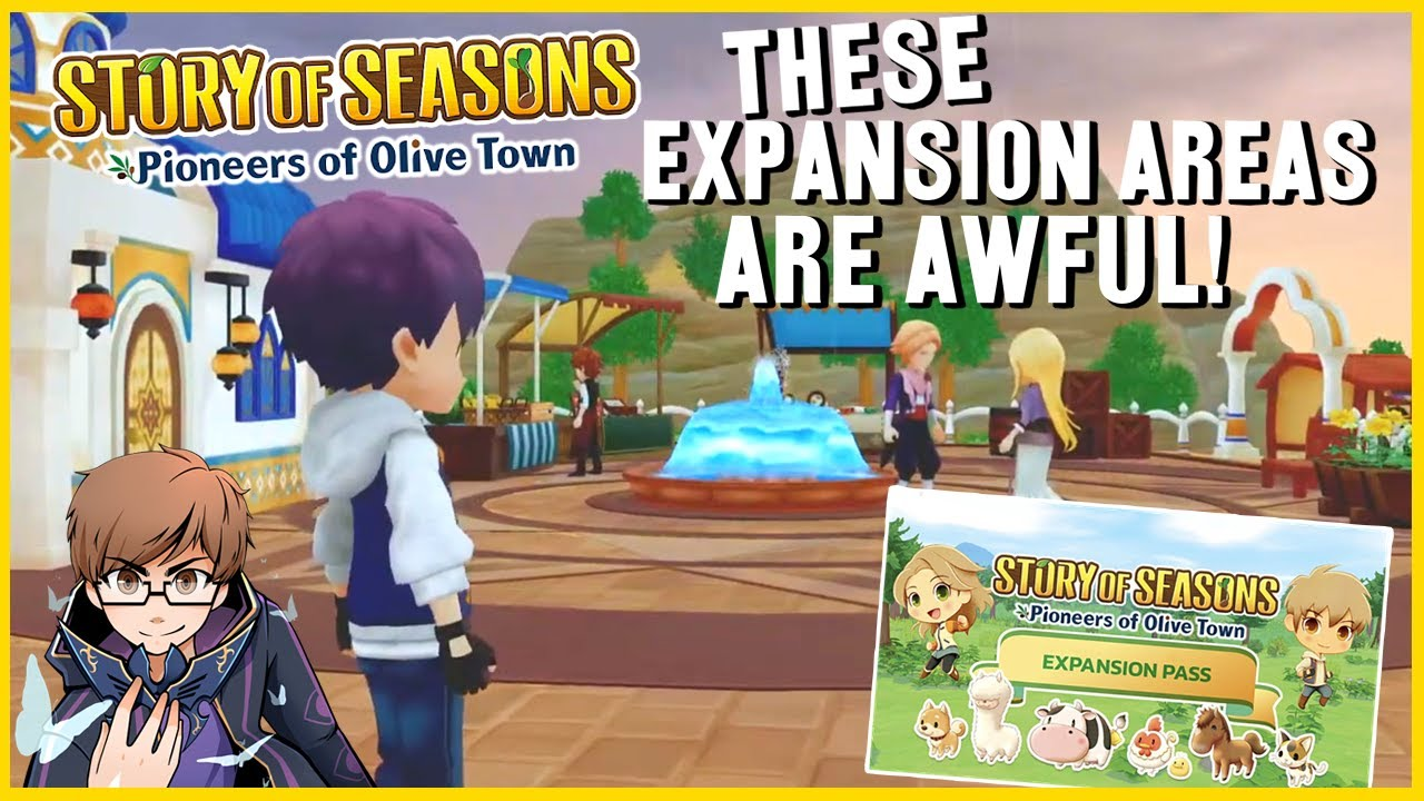 Olive Town's New DLC Expansion Areas are Awful | Story of Seasons Pioneers of Olive Town