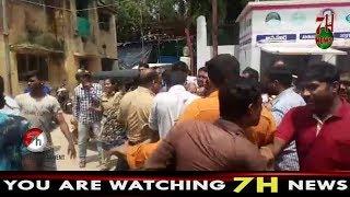 Aaj mangalhat excise police station ke pass ACP Naveeen kumar aur Surendersingh ke beech ladai hui.
