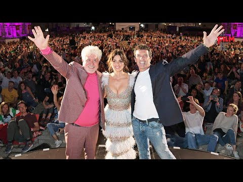 Pedro Almodóvar, Penélope Cruz & Antonio Banderas introduce Pain & Glory | Film4 Summer Screen