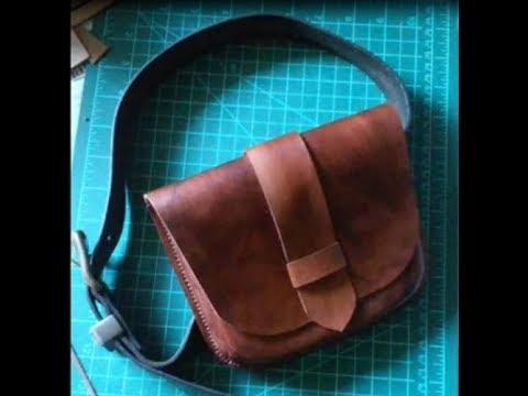 [TUTO CUIR #2] La sacoche de ceinture