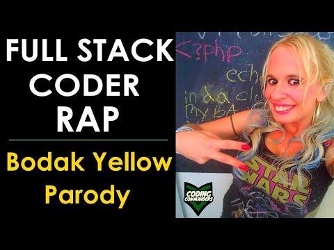 Full Stack Coder Rap - Bodak Yellow Parody (funny)