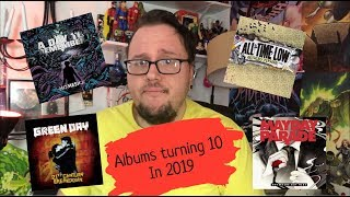 Pop Punk Albums Turning 10 in 2019