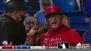 Ejection 005 - Crew Chief Jerry Layne Ejects Joe Maddon After a Series of Replay Challenge Losses
