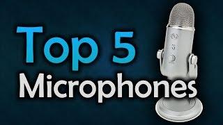 Video ▶️ Best Microphones for YouTube & Gaming - Top 5 Mics in 2017 download MP3, 3GP, MP4, WEBM, AVI, FLV Juni 2018