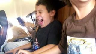 Kids Scared First (1st) Airplane Flight