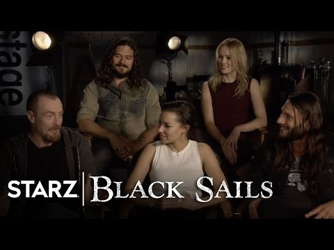 Black Sails  The Cast Answer Your Questions  STARZ