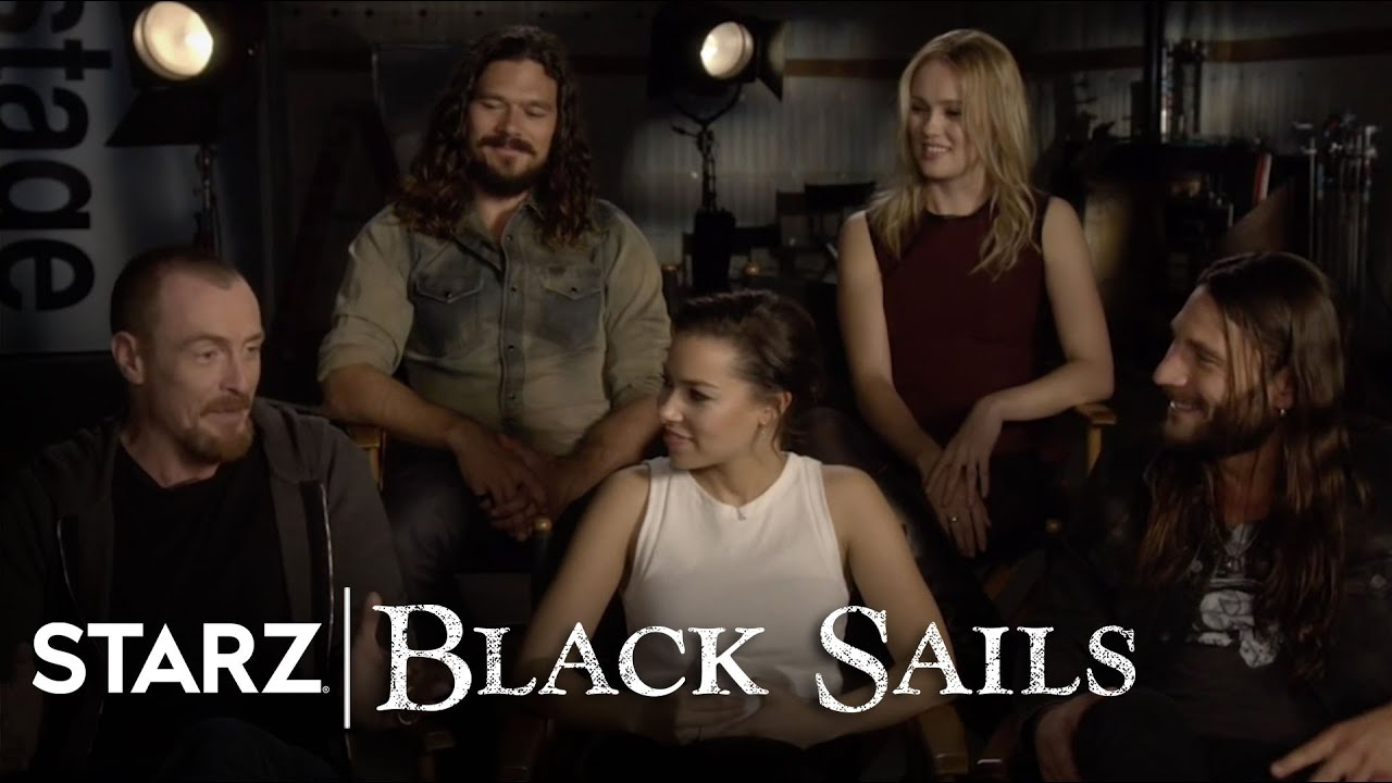Black Sails | The Cast Answer Your Questions | STARZ - YouTube |Starz Black Sails Cast