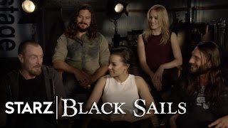 Black Sails  The Cast Answer Your Questions  STARZ