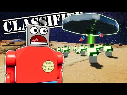 CAMPERS FIND SECRET ALIEN ARMY IN DESERT! - Brick Rigs Multiplayer Roleplay - Lego City Police