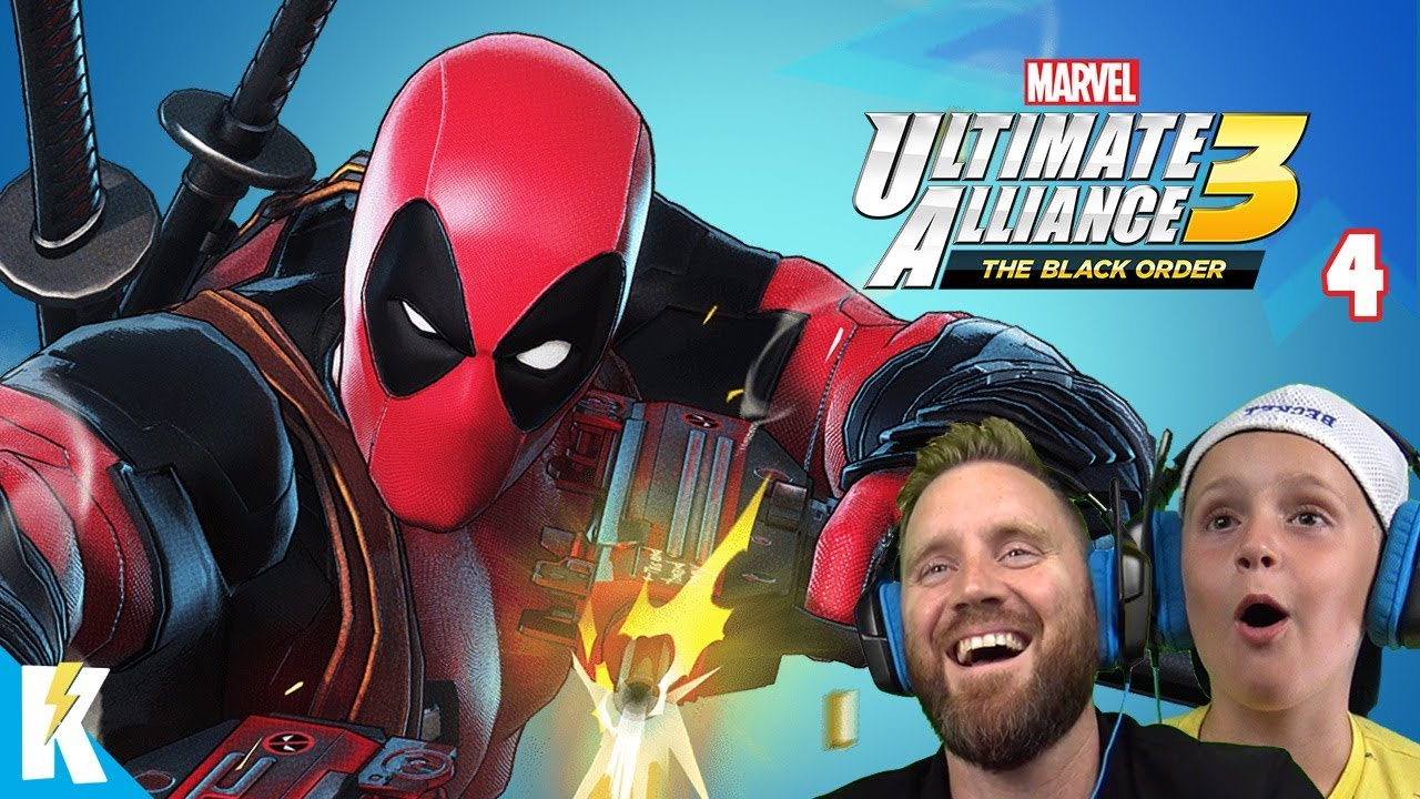 Download ABangBang! Marvel Ultimate Alliance 3 Gameplay Part 4! K-City GAMING
