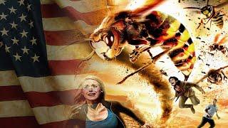 دبابير عملاقة تغزو أمريكا