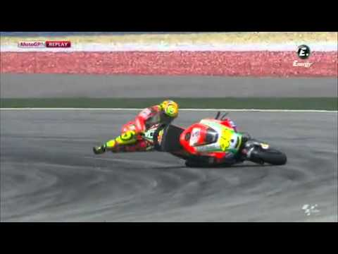 hqdefault - Vídeo: Valentino Rossi vs Comissário de Prova em Sepang