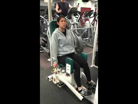 Adductor And Abductor Leg Machine